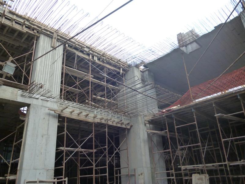 Shop Building, Ermou, Volos-Construction phases