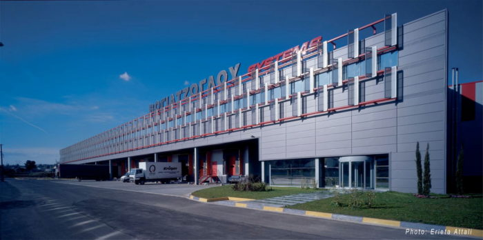 Office & Warehouse Complex, Voyatzoglou Systems, Oinofyta, Athens