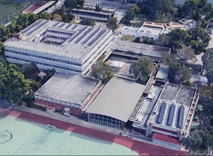 School in Athens, Main Building