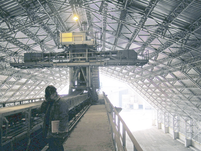 Cement Additives Storage 60.000 tn, AGET Heracles Chalkis Plant-Steel trusses with long spans