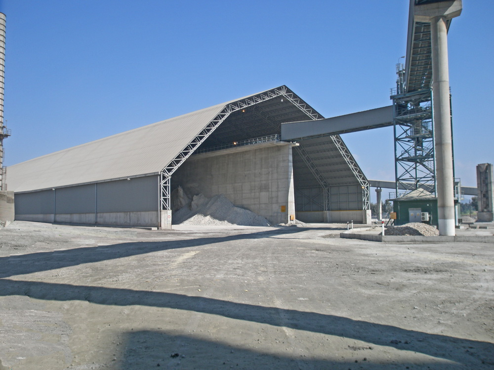 Cement Additives Storage 60.000 tn, AGET Heracles Chalkis Plant