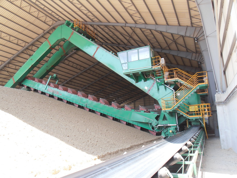 Cement Additives Storage 40.000 tn, AGET Heracles Volos Plant-Steel frames with long spans