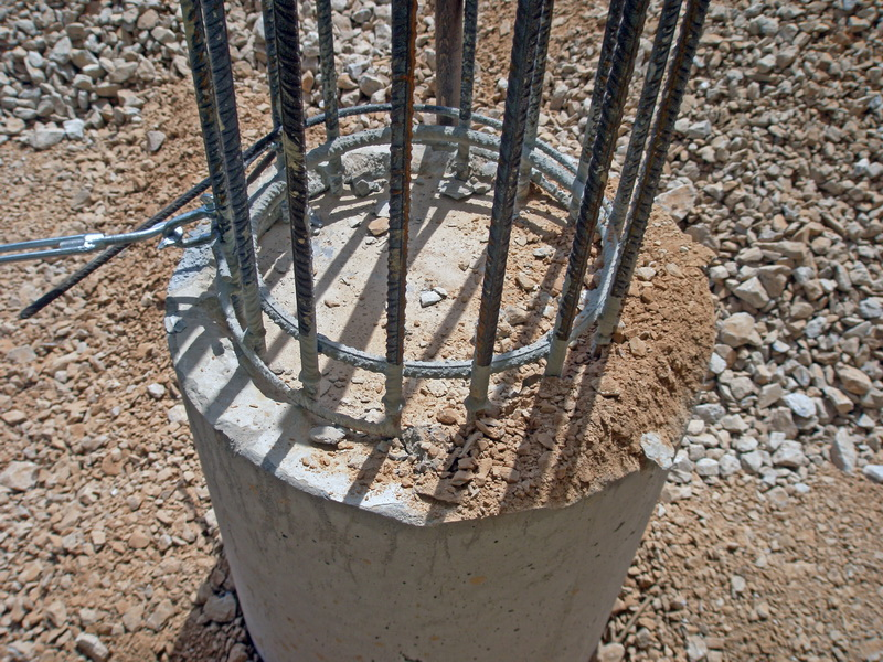 Cement Additives Storage 40.000 tn, AGET Heracles Volos Plant-Bored piles, Micro piles