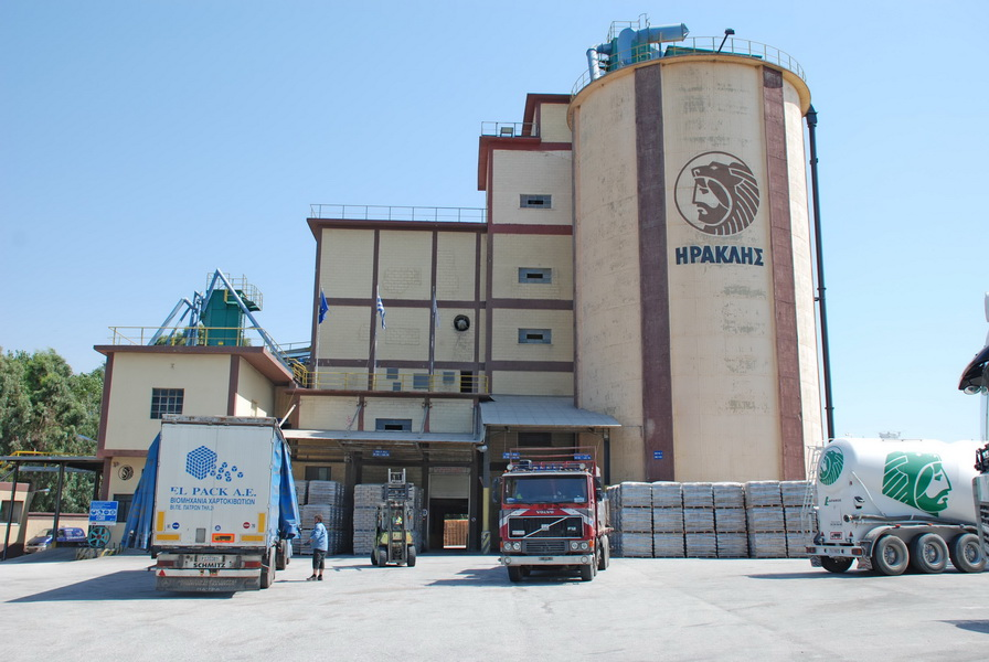 Cement Distribution Center AGET Heracles, Rio, Peloponnese