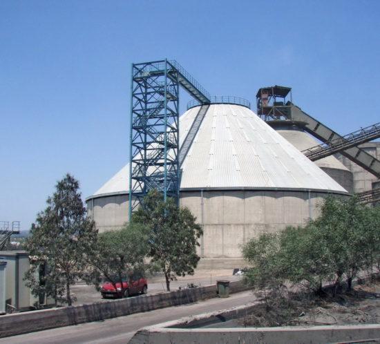 Clinker Silo 25.000 tn, AGET Heracles Milaki Plant