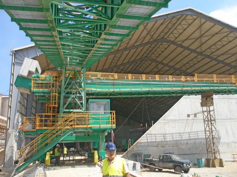 Conveying System, AGET Heracles Volos Plant-Steel structure