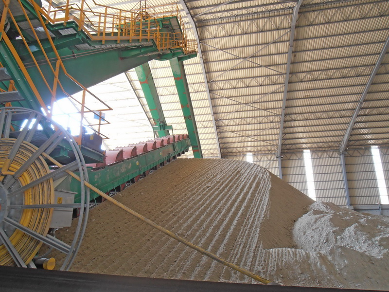 Conveying System, AGET Heracles Volos Plant