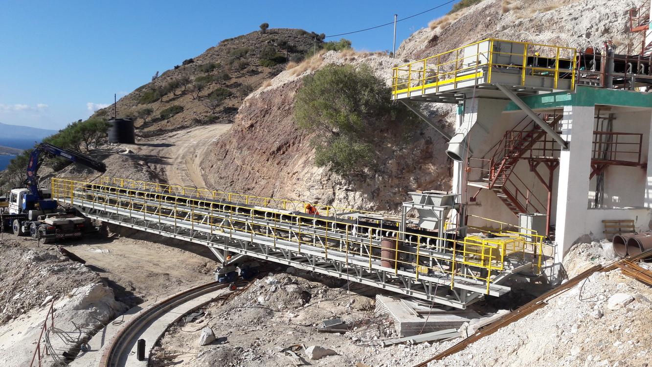 Gypsum Loading Crane, Altsi, Crete