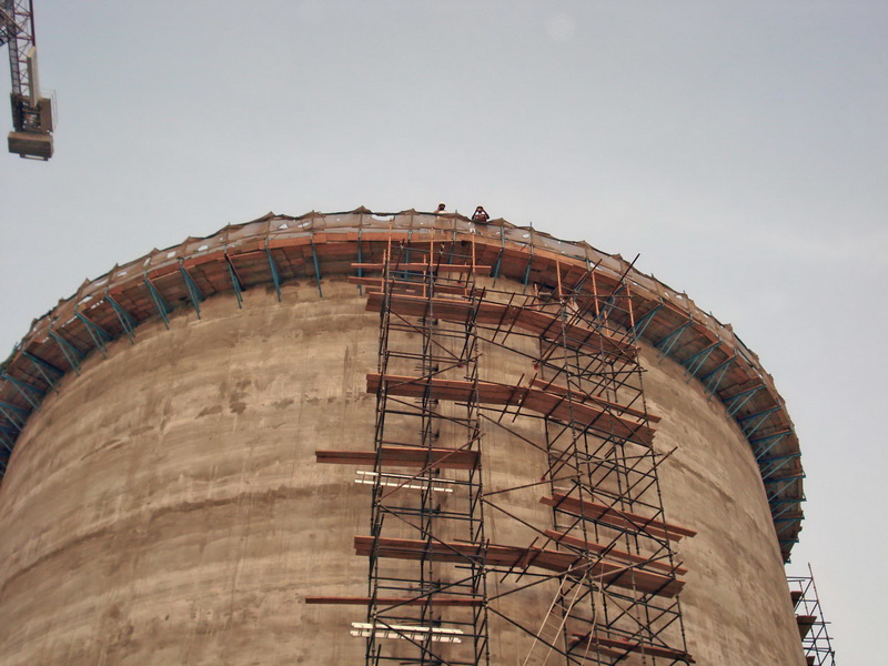 HCC Cement Plant, Sharjah, U.A.E.-Clinker silo-Post tensioned concrete