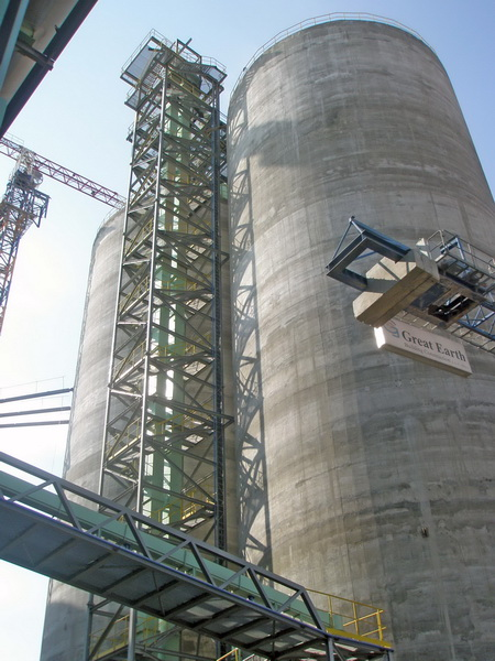 HCC Cement Plant, Sharjah, U.A.E.-Steel structure