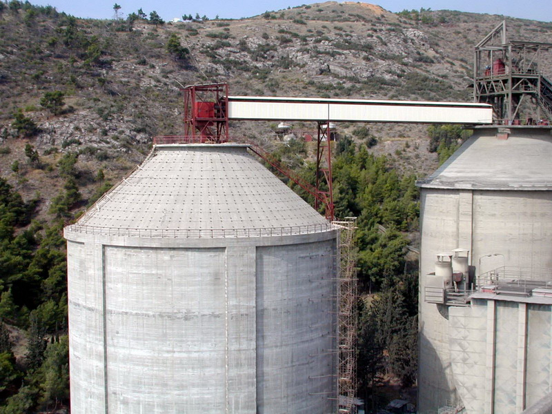 Clinker Silo 60.000 tn, Post-Tensioned, AGET Heracles Volos Plant