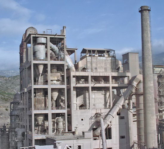Preheater Tower and Cement Mill, AGET Heracles Volos Plant