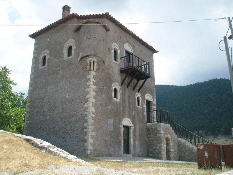 Historical Tower, Kalavryta-Listed building