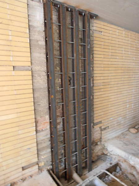 Apartment Building, Palaio Psychiko, Athens-Composite Steel construction with gunite