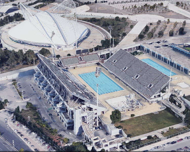 Olympic Open Swimming Center, OAKA, Athens