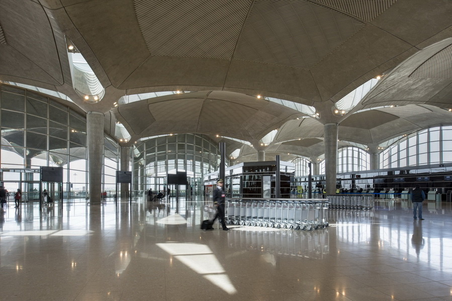 Amman International Airport, Queen Alia -  Prefabrication using high performance concrete
