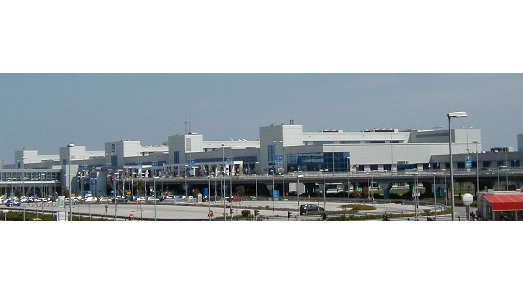 Athens International Airport, El. Venizelos - Completed building