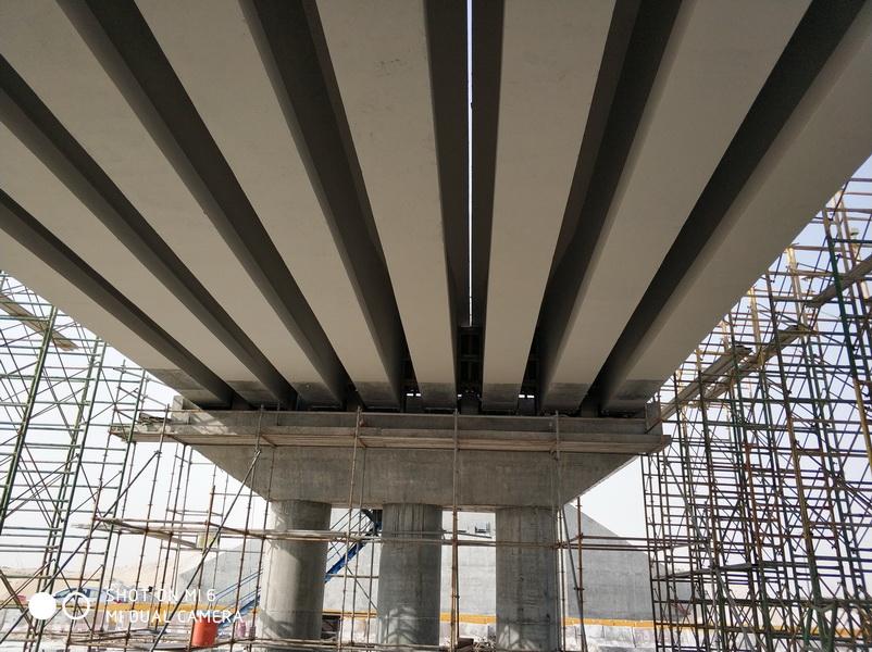 Rail Over - Precast Bridge of 2x33m Spans, Saudi Arabia - Prefabrication of bridges, Erection of the structure