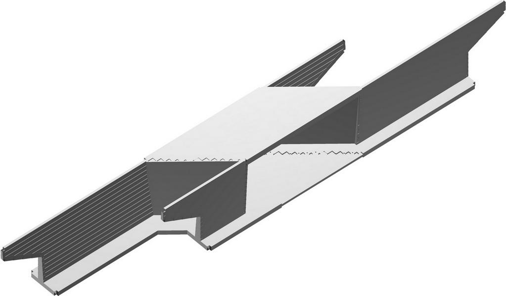 Rail Under – Box Bridge 16m Span, 20m Long, Saudi Arabia - Integral bridge, Analysis model